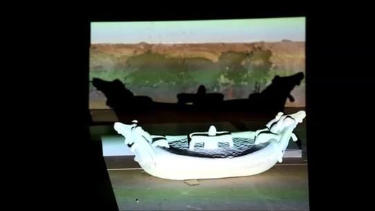 ''Temporal Documentation Pietro Bernini Barcaccia, Lampedusa 19/12/15 iii'