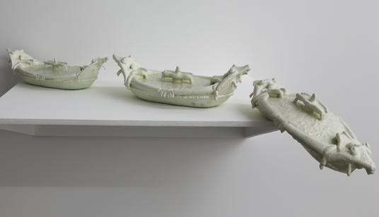 Temporal Documentation Pietro Bernini, Barcaccia, Lampedusa, 19/02/15