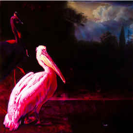 Neon Documentation Joseph Kosuth Electical Light English Glass Letters Pink Eight