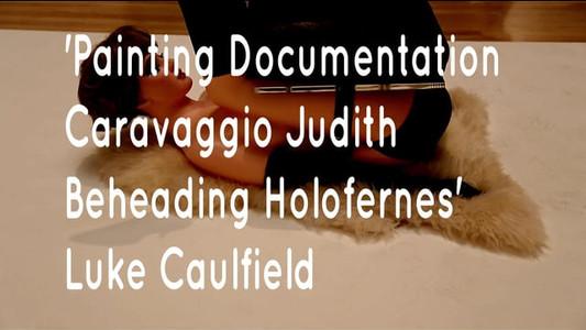 'Painting Documentation Caravaggio Judith Beheading Holofernes'