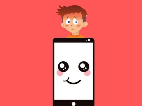 Como tirar meu filho do celular?