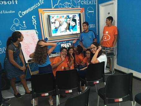 Crianças Holandesas e Estancianas fazem intercâmbio