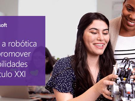 Como a robótica na aprendizagem está preparando os alunos para as profissões do futuro?