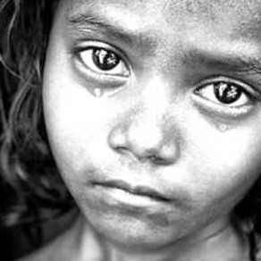 Facebook Post. World Poverty - The Facts.
