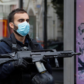 Facebook Post. Man shouting 'Allahu akbar' kills three at French church.