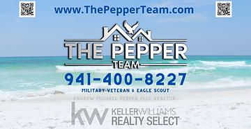 The Pepper Team - Andrew Pepper - Advert