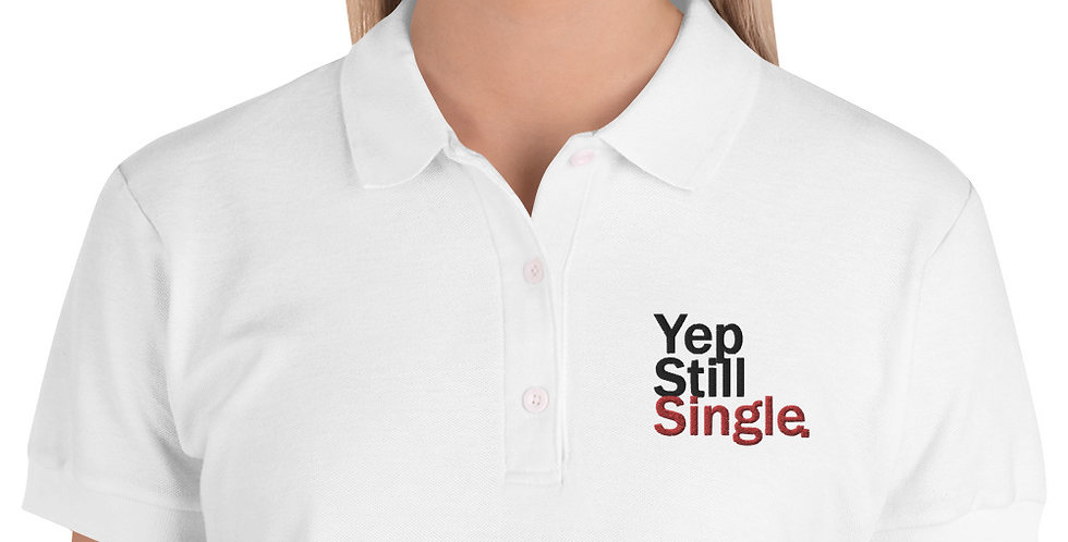 Yep S.S Embroidered Women's Polo Shirt