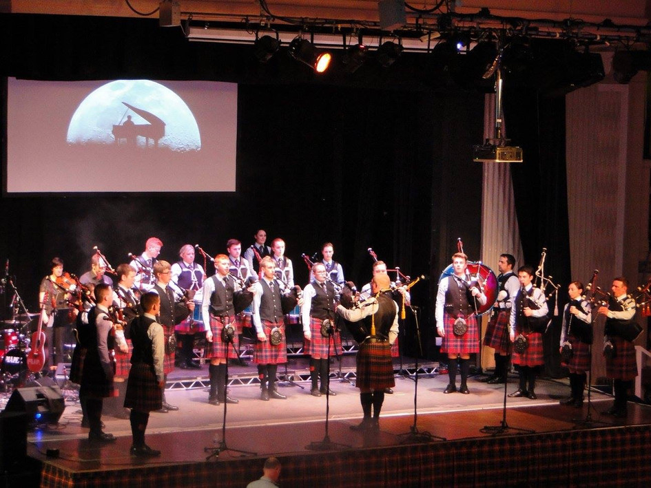 Bucksburn and District Concert with Boghall and Bathgate Caledonia at Aberdeen Beach Ballroom 2017