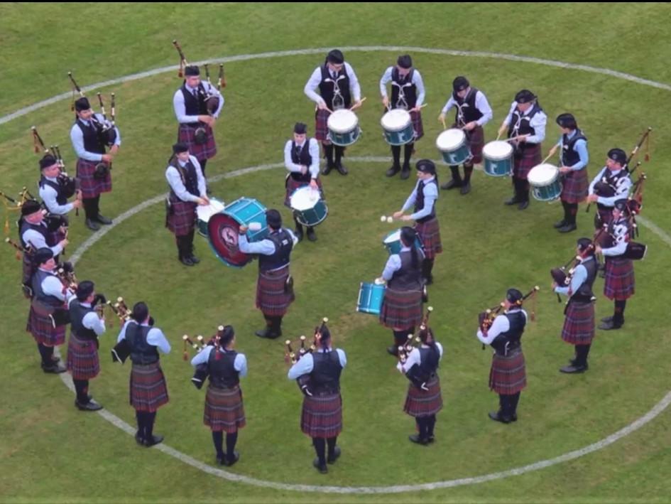 World Pipe Band Championships Final 2018