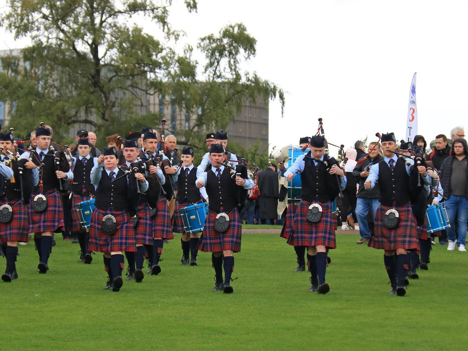 World Pipe Band Championships Qualifier 2018
