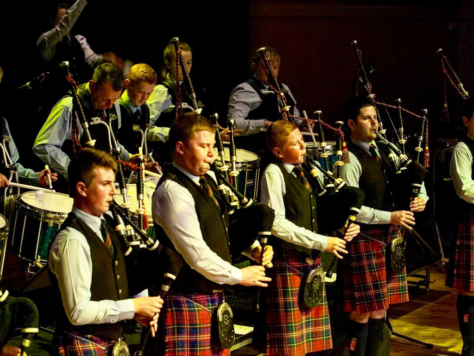 Bucksburn and District Concert with Shotts and Dykehead Caledonia at Aberdeen Music Hall 2015