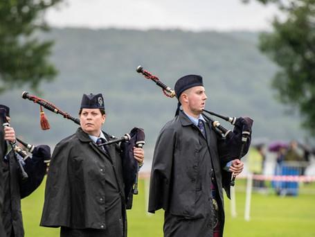 Scottish Pipe Band Championships - Dumbarton 2019