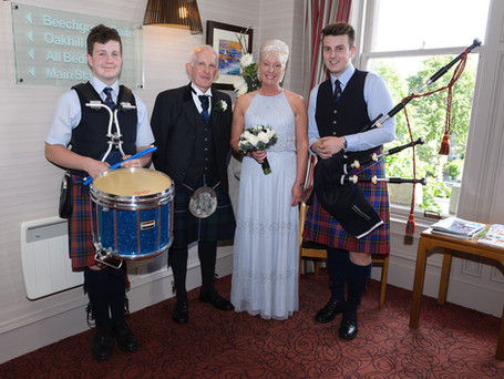 Wedding at the Atholl Hotel 2017