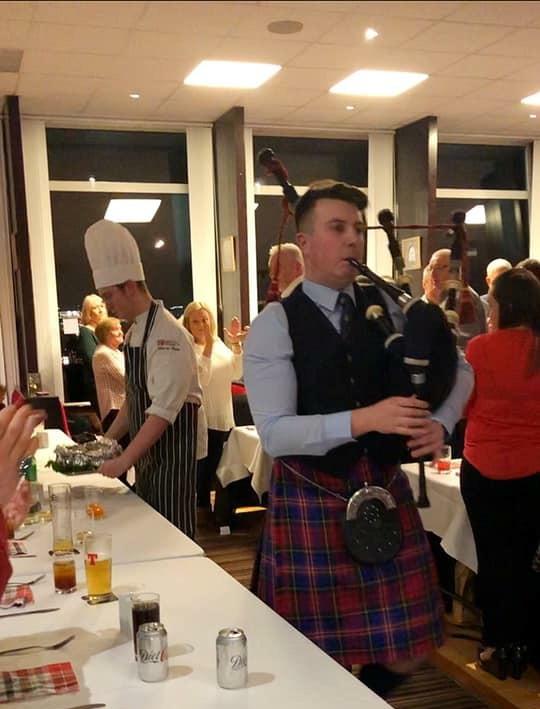 Burns Supper at Nigg Bay Golf Club 2019