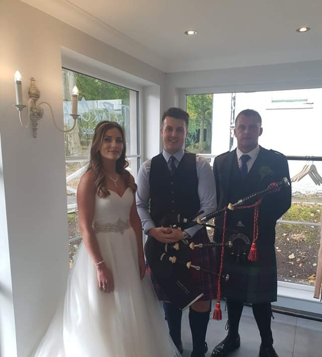 Wedding at Hazlehead Park 2018