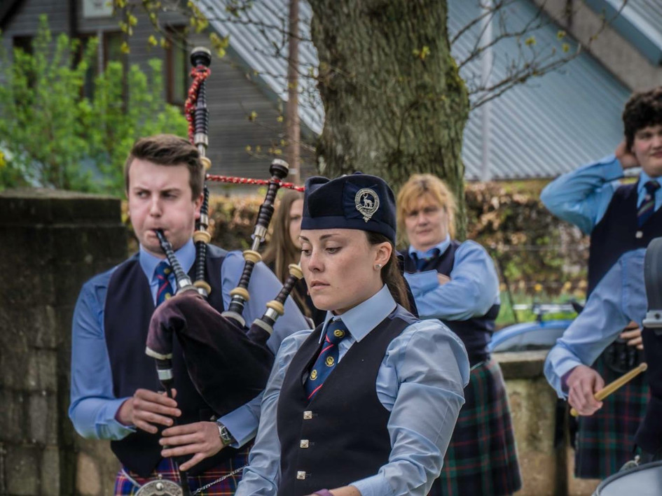 North of Scotland Pipe Band Championships 2018