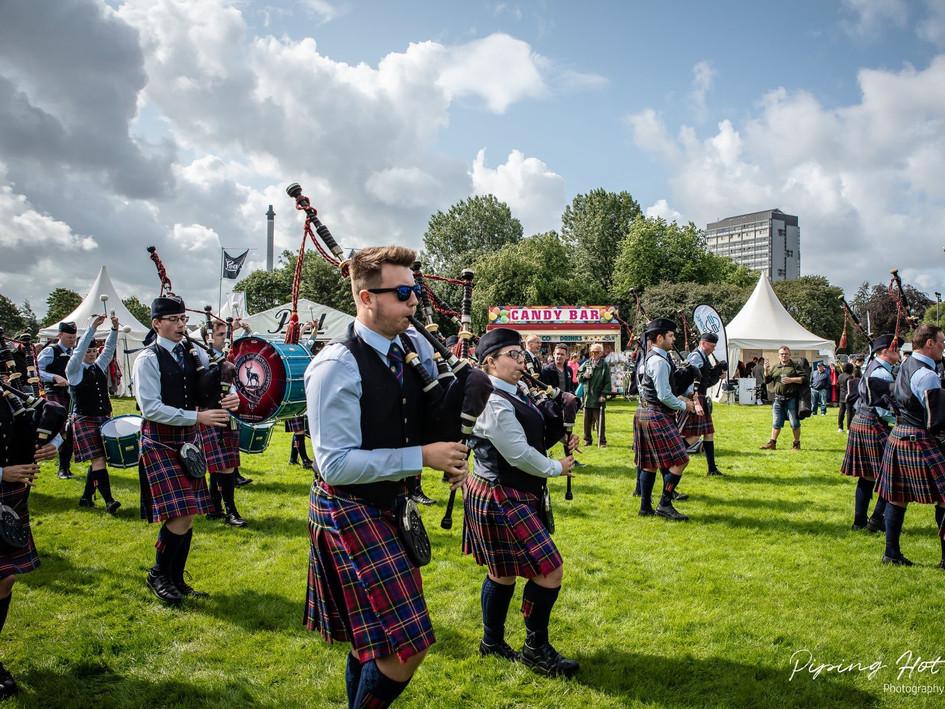 World Pipe Band Championships - Glasgow Green 2019