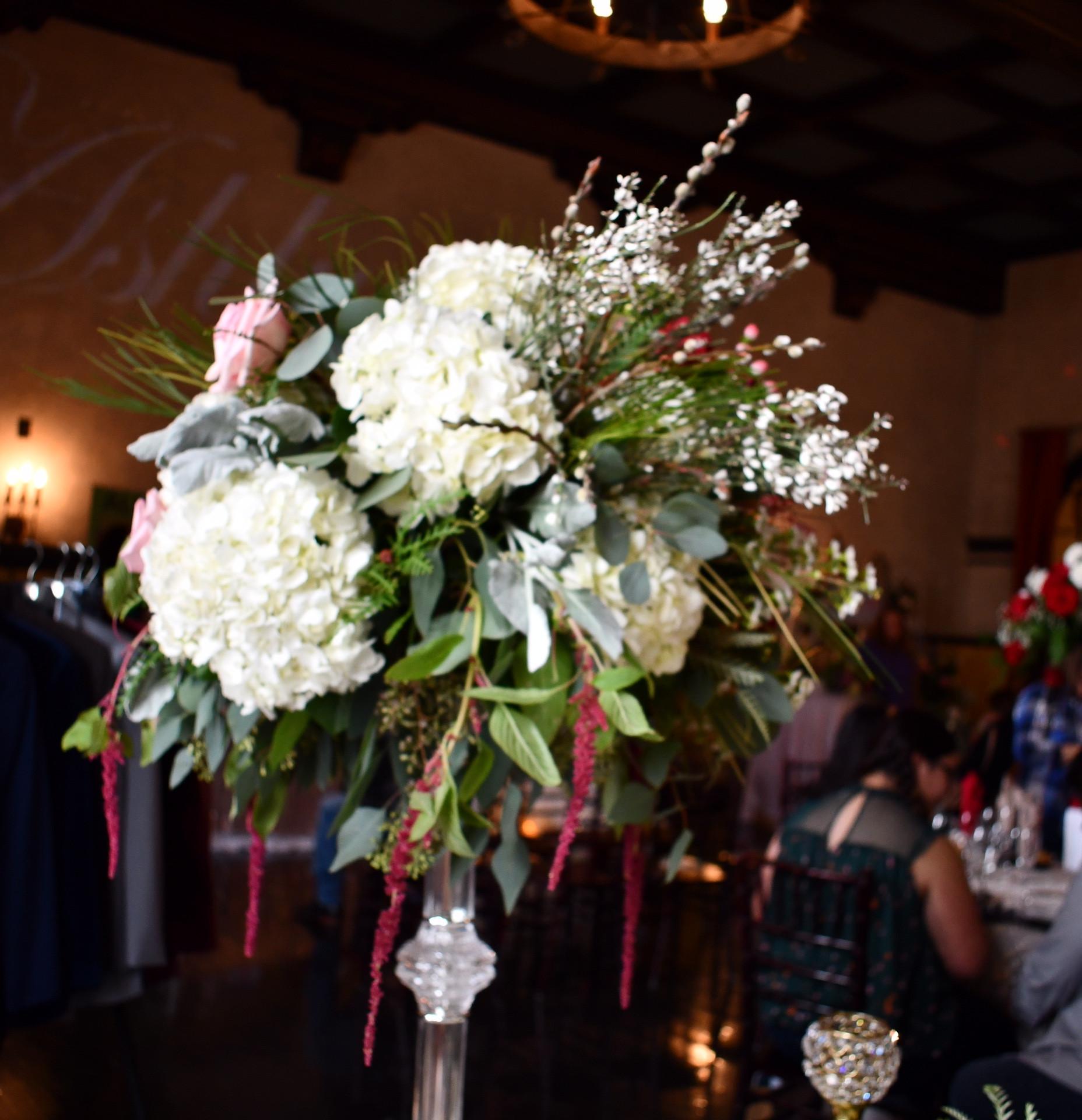 Crystal Wedding Stands