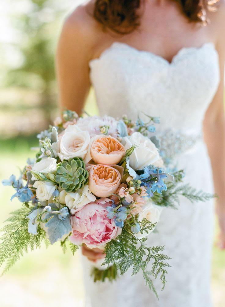 Gentle Bridal Bouquet