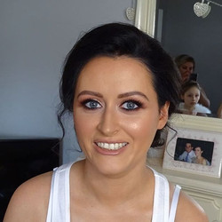 Friday's beautiful bride Louise, an abso