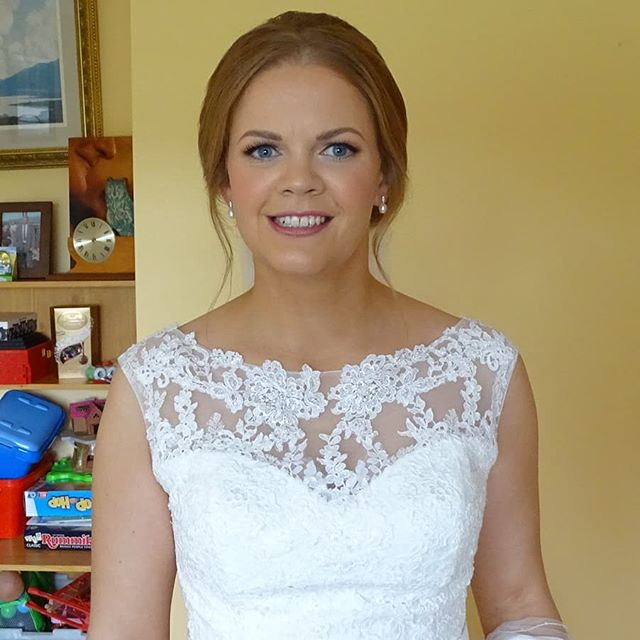 Friday's very beautiful bride, Maeve