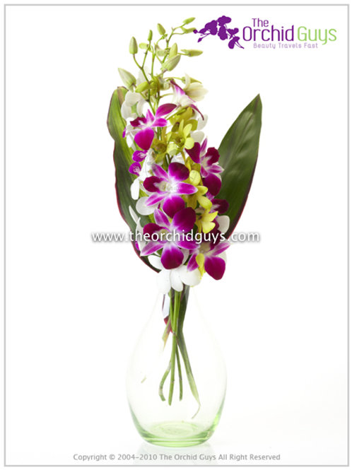 Bouquet - 3(Red sonia, Apple Green,Two Tone)