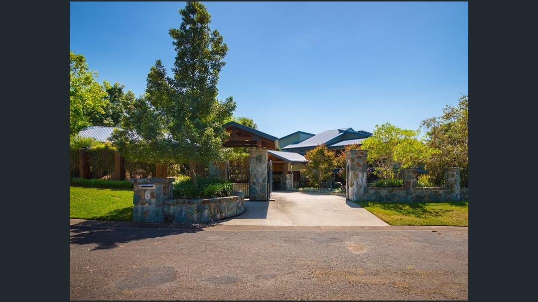 Blue stone gate& entrance