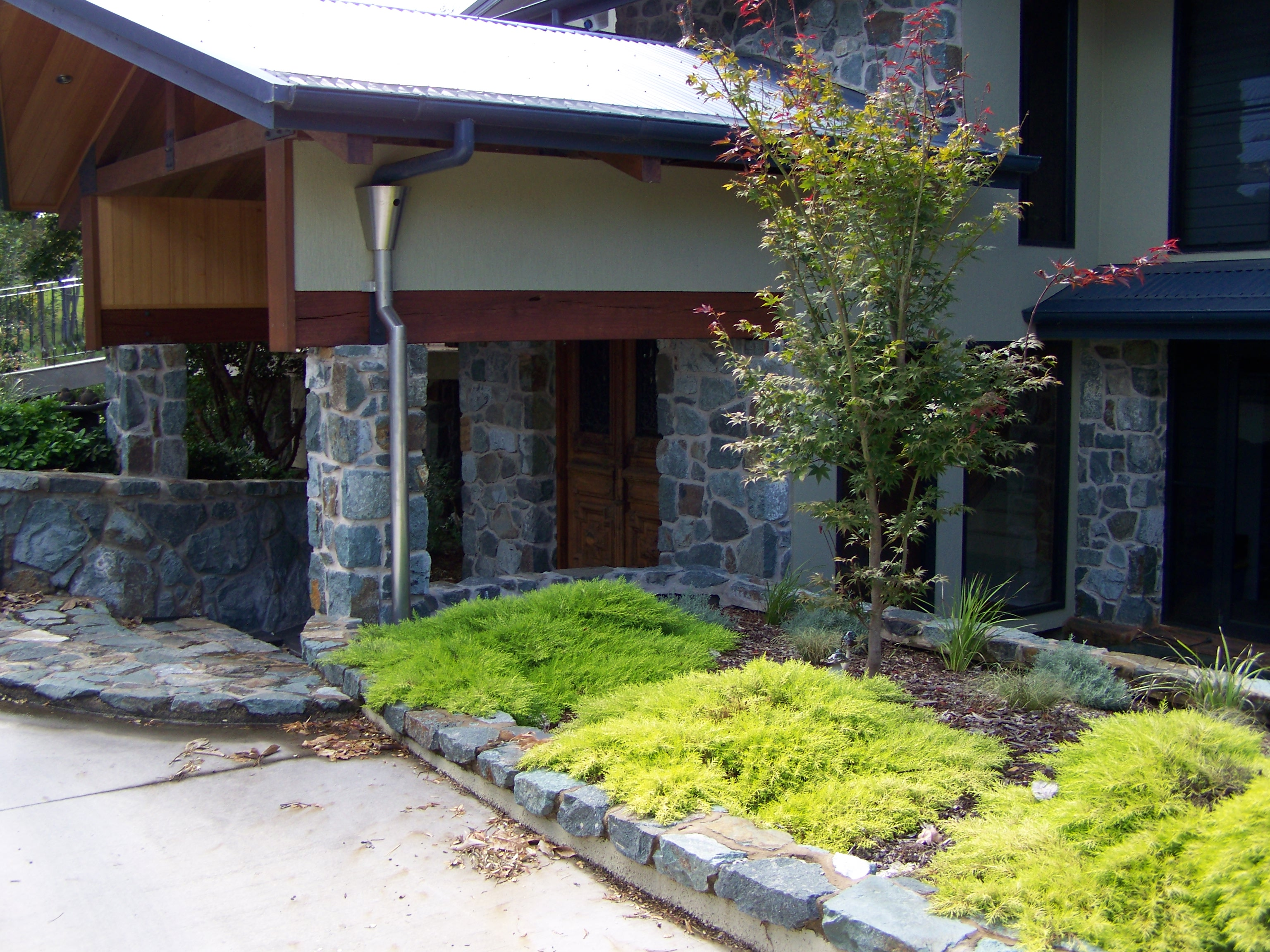 Basalt Stone Structure