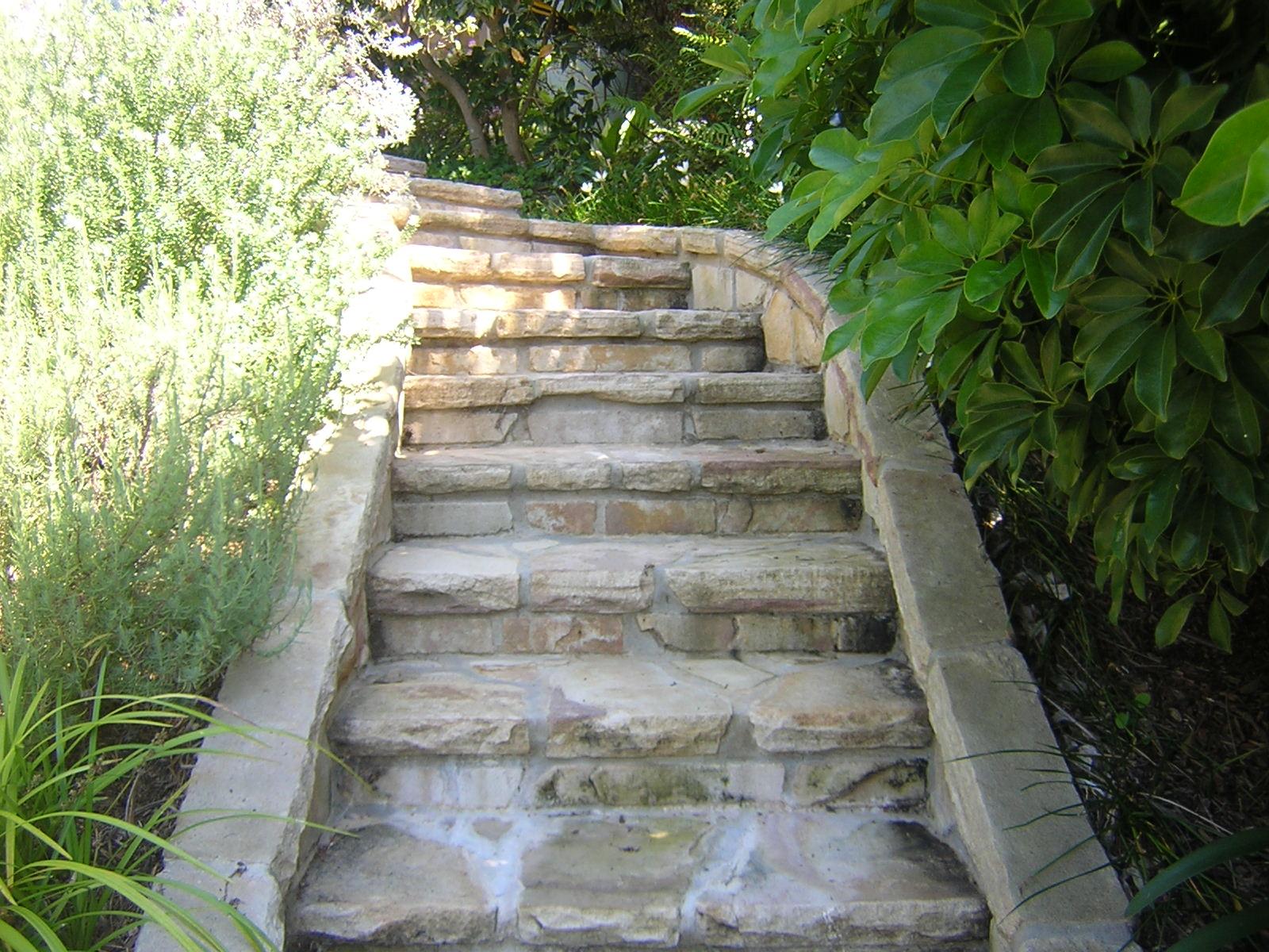 Sandstone Stairs