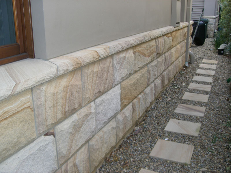 Sandstone dimension stone
