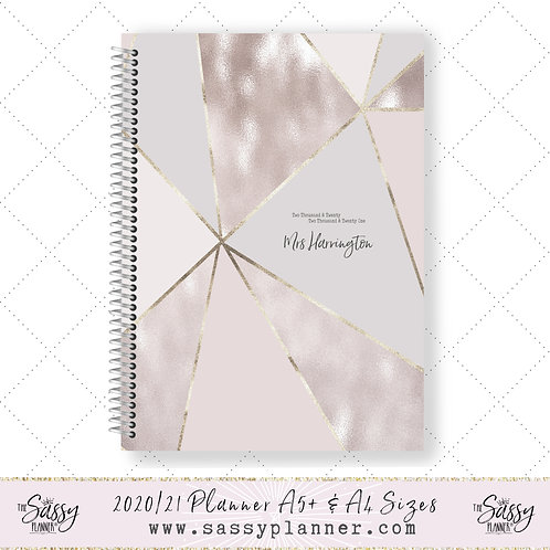 2020/2021 Academic Planner (Luxe Rose Cover)