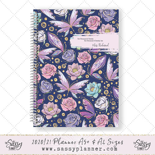 2020/2021 Academic Planner (Butterfly Cover)