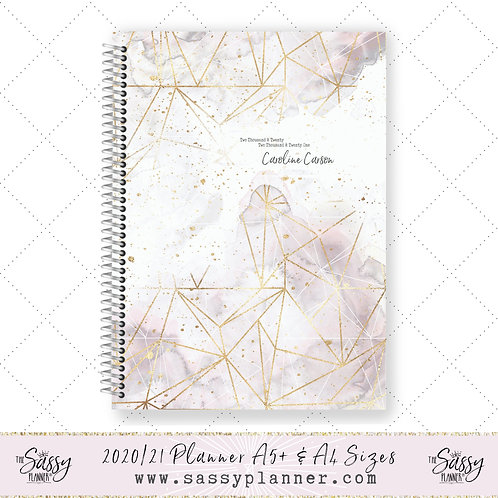 2020/2021 Academic Planner (Smokey Gold Cover)