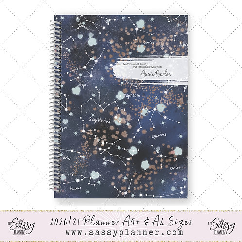 2020/2021 Academic Planner (Constellations Cover)