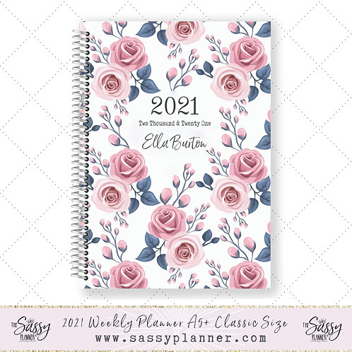 2021 Planner (Pink Rose Cover)