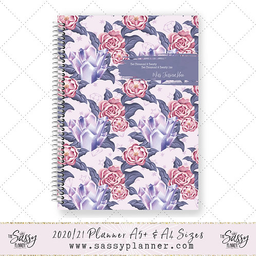 2020/2021 Academic Planner (Crystal Rose Cover)