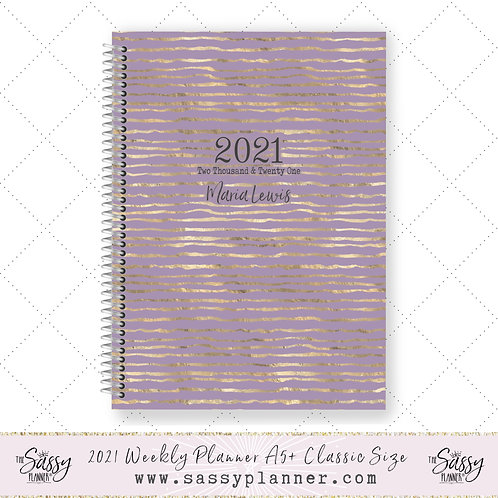 2021 Planner (Lilac Ribbon Cover)