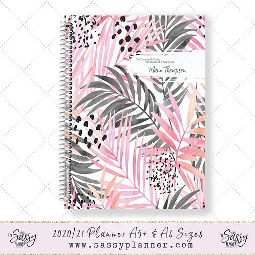 2020/2021 Academic Planner (Tropical Cover)