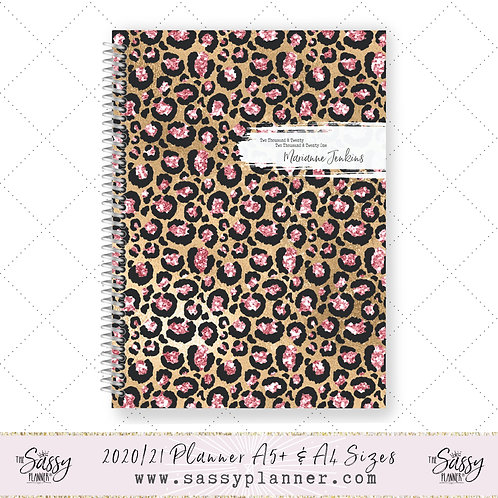 2020/2021 Academic Planner (Jewel Tiger Cover)
