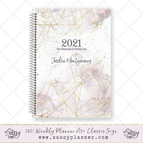 2021 Planner (Smokey Gold Cover)