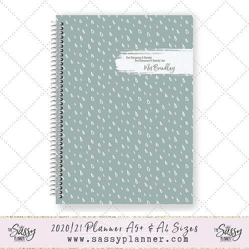2020/2021 Academic Planner (Minty Drop Cover)