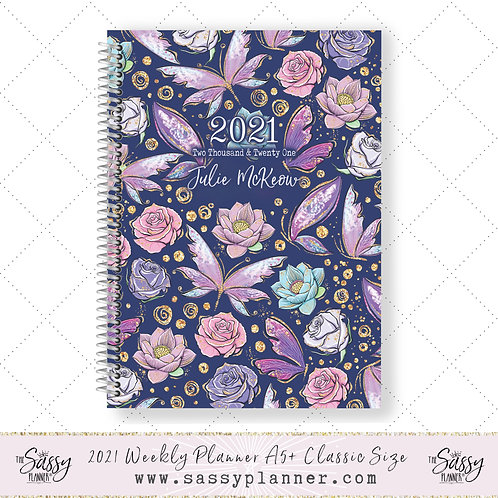 2021 Planner (Butterfly Cover)