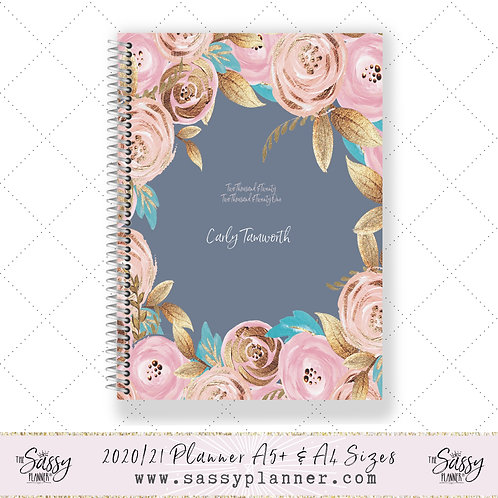 2020/2021 Academic Planner (Secret Garden Cover)