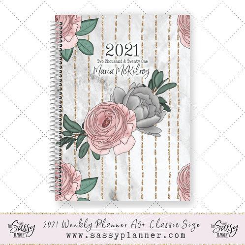 2021 Planner (Ribbon Rose Cover)