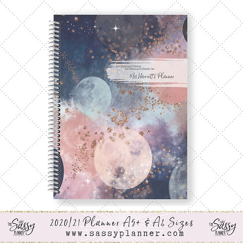 2020/2021 Academic Planner (Galaxy Cover)
