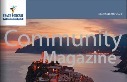 Peace Podcast Community Magazine: Issue 2021