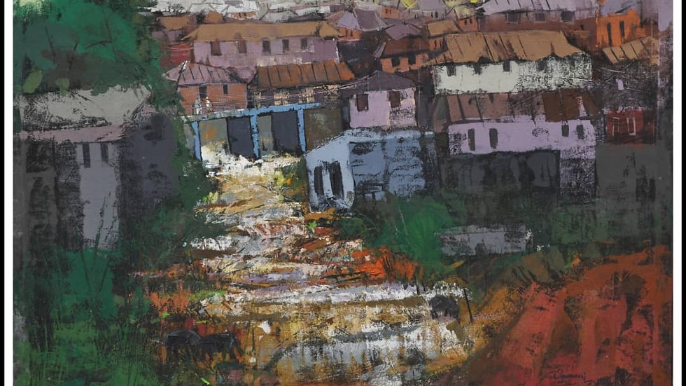 Village square by Ogunnusi Dolapo