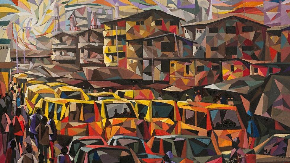 Metropolitan rush by Nzennaya Barry