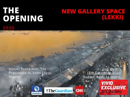 Opening new gallery space in Lekki