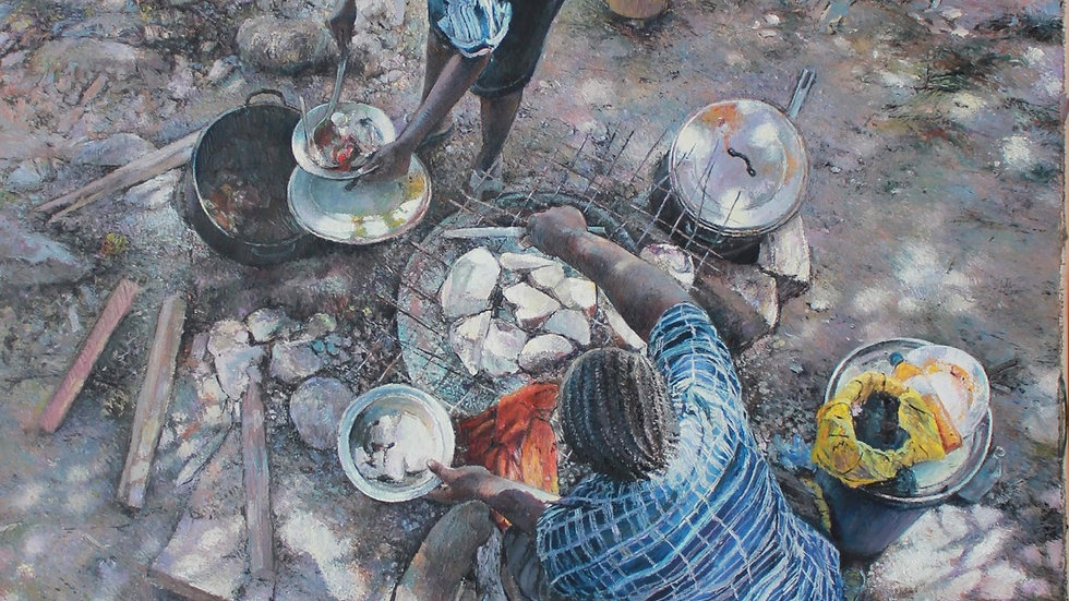 Food for thought by Titus Agbara